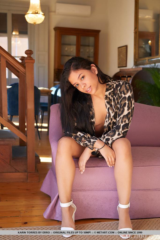Model of Karin Torres in garmentless sessions