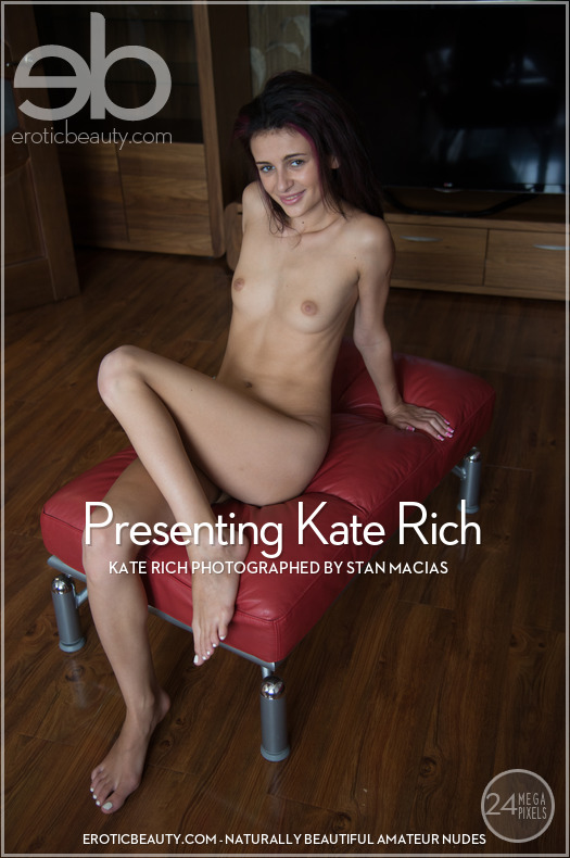 On the cover of Presenting Kate Rich Erotic Beauty is extraordinary Kate Rich