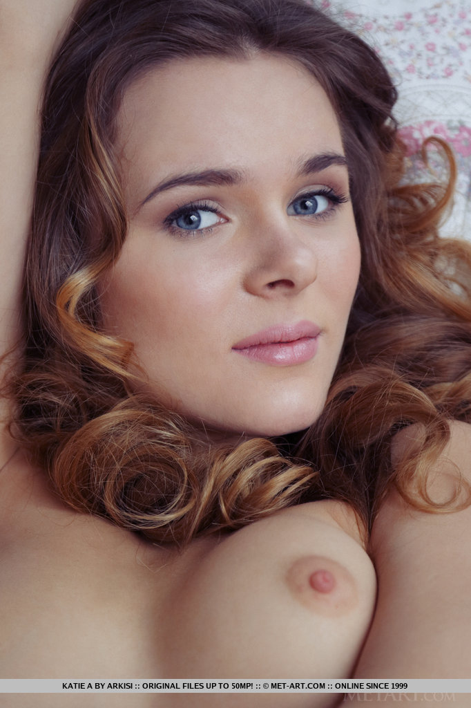 This lady has stripped small breasts snap