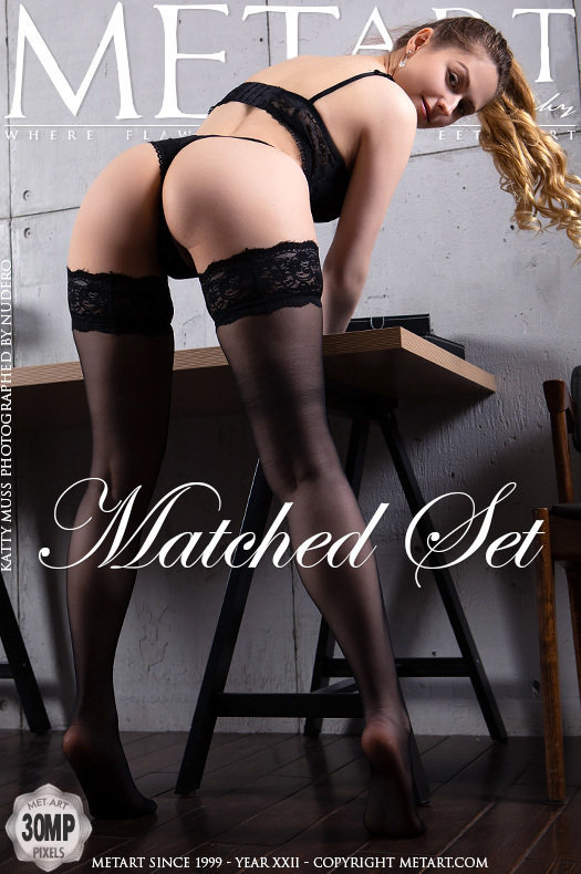 On the magazine cover of Matched Set MetArt is inspiring Katty Muss