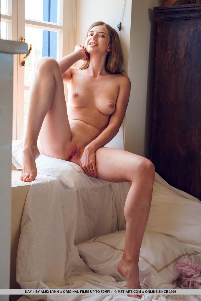 Best flirtatious model Kay J in naked sessions