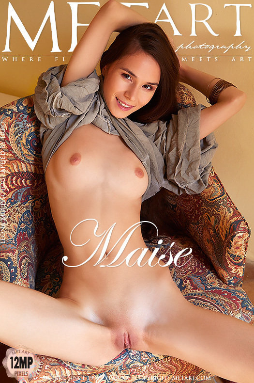 On the cover of Maise MetArt is heart-stopping Leona Mia