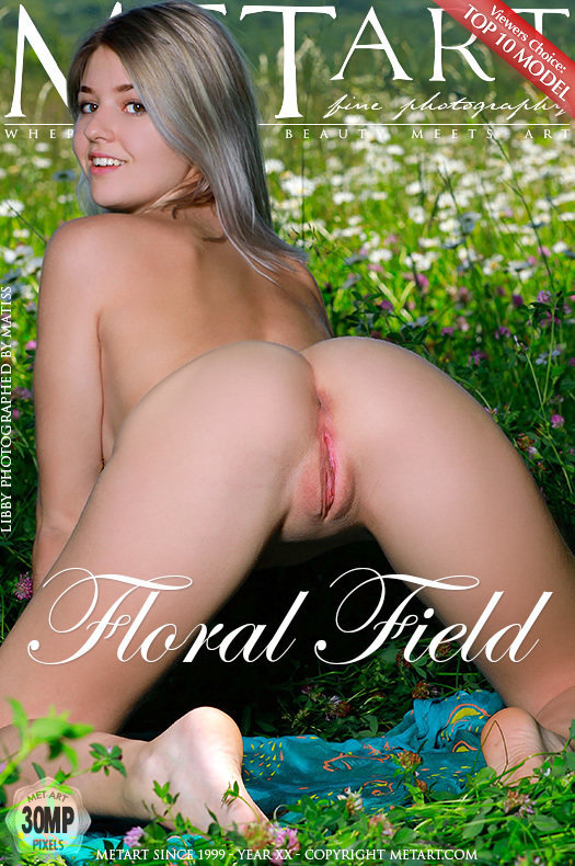 Featured Floral Field MetArt is uplifting Libby