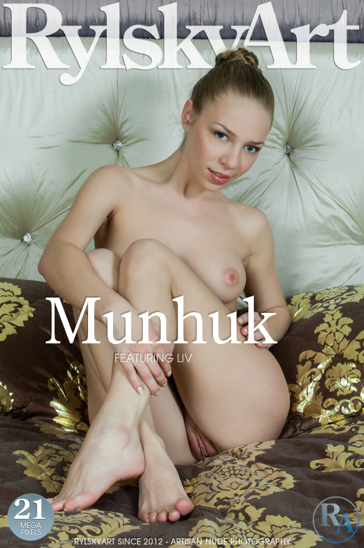On the magazine cover of Munhuk Rylsky Art is unbelievable Liv