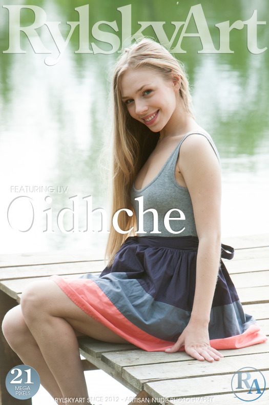 On the magazine cover of Oidhche Rylsky Art is marvelous Liv