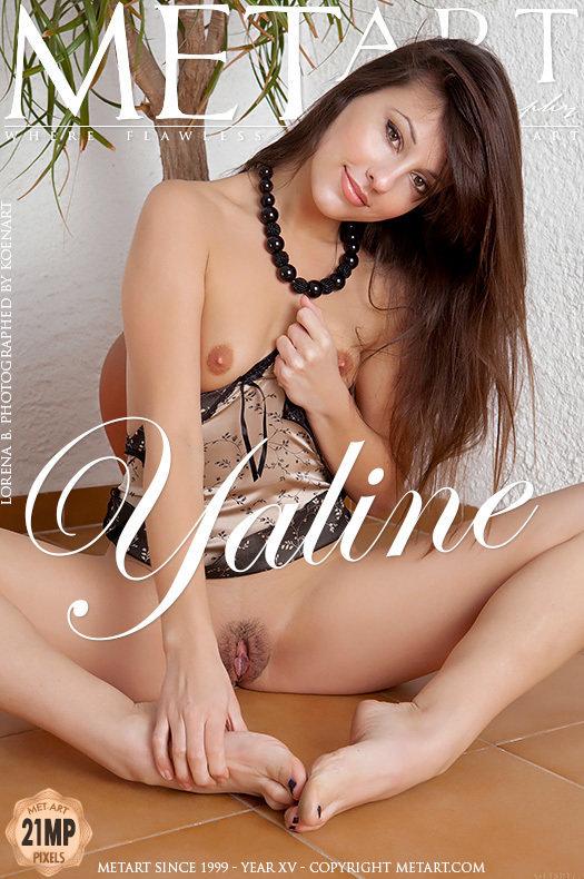 On the magazine cover of Yaline MetArt is lofty Lorena B