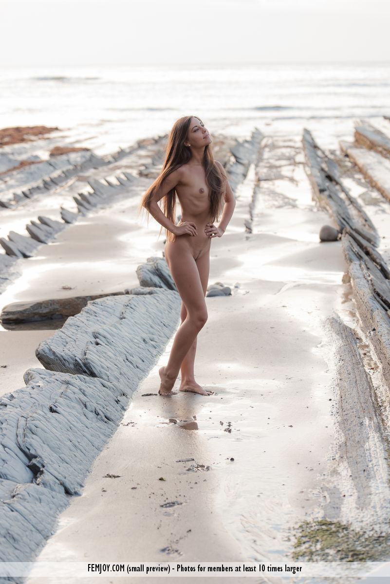 On the cover of Naked FemJoy is astonishing Lorena G.