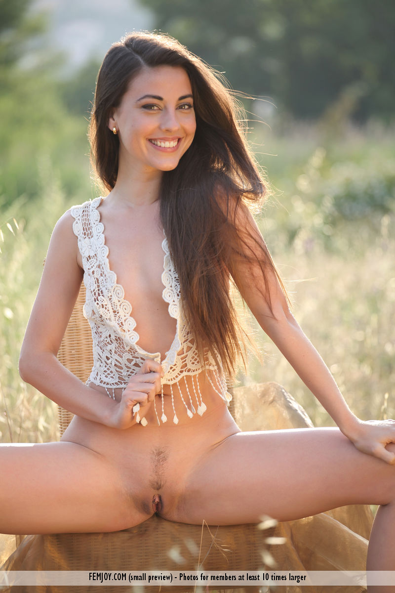 On the magazine cover of Life FemJoy is stunning Lorena G.