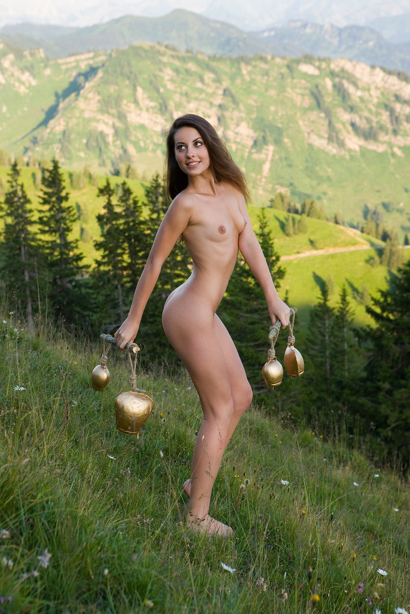 On the cover of Alpine Sounds FemJoy is shocking Lorena G.