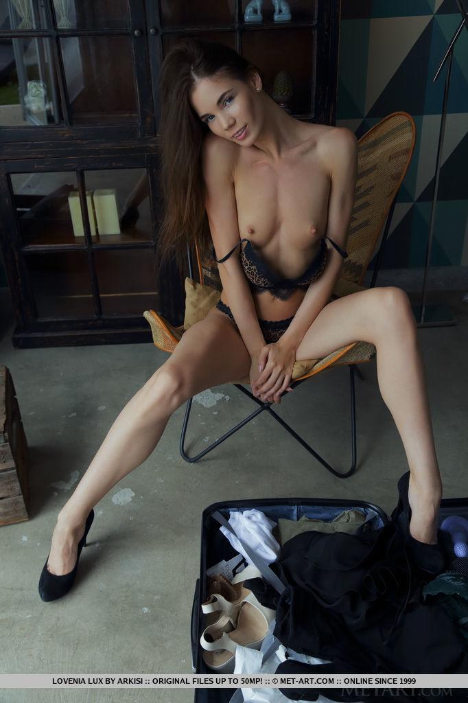 Best alluring model Lovenia Lux in stark sessions