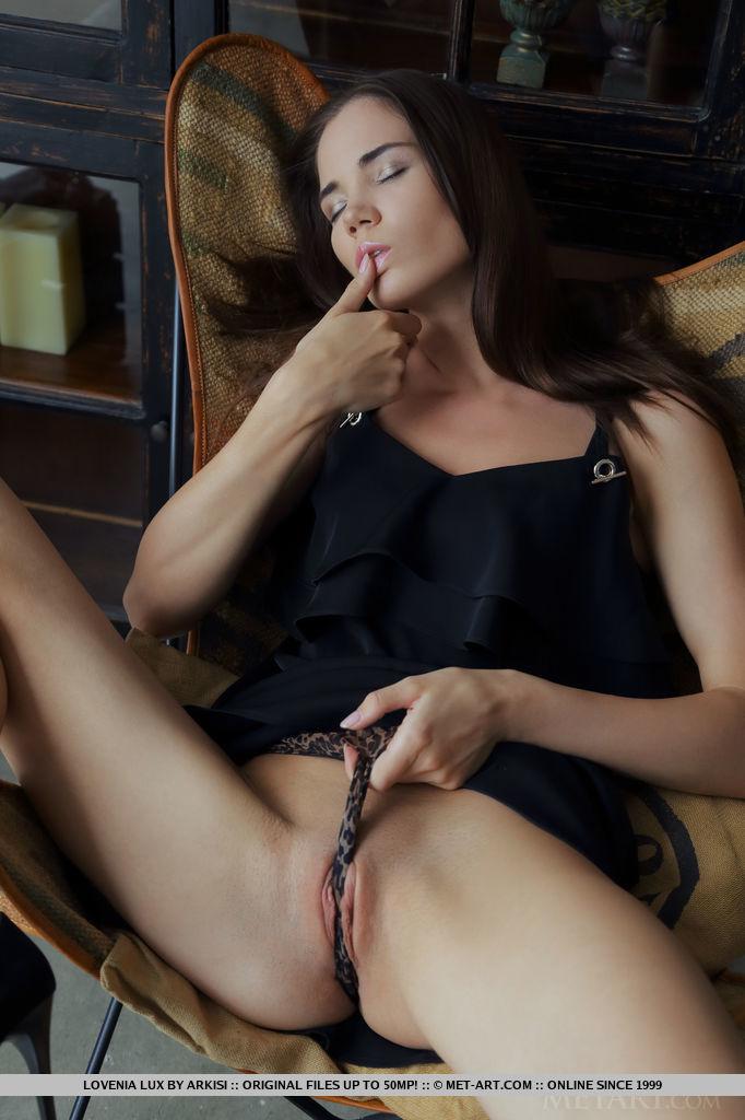 Lovenia Lux inviting small breasts snapshot