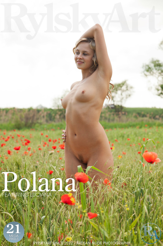 On the cover of Polana Rylsky Art is stunning Luciana