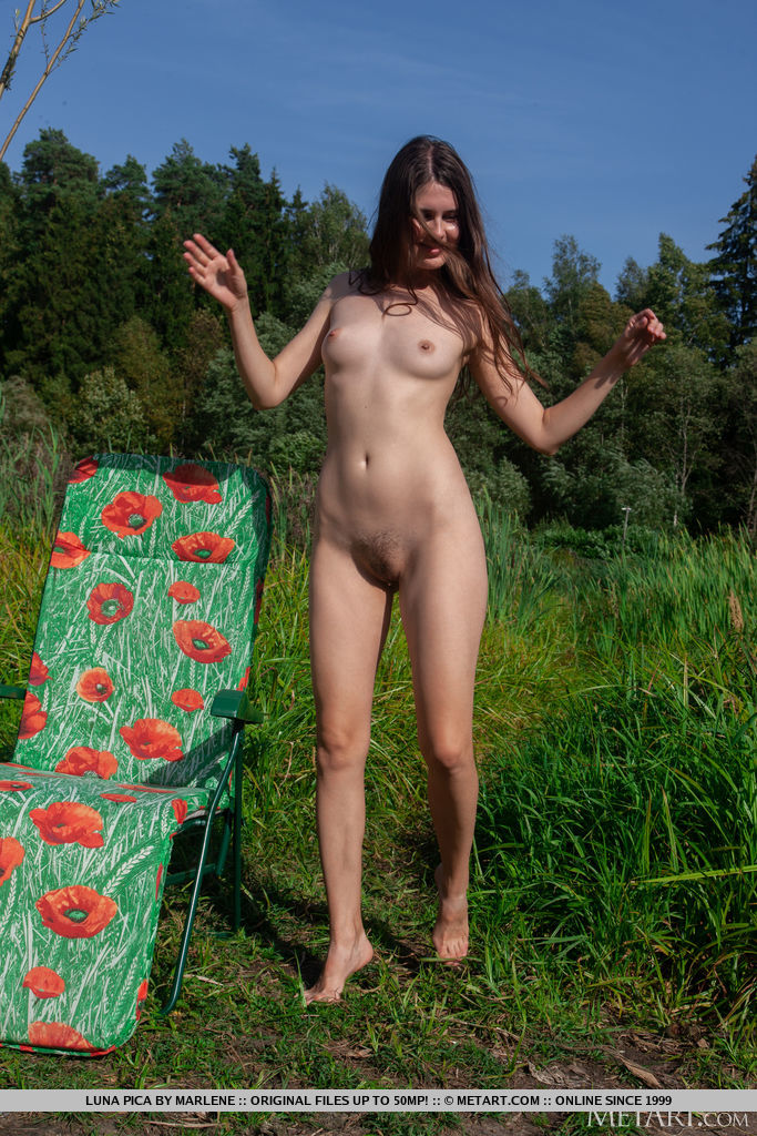Luna Pica in titillating photo sessions for chargeless