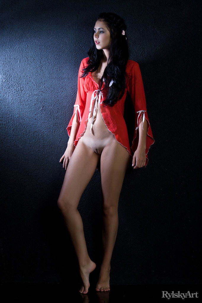 Best enticing model Macy in stark sessions