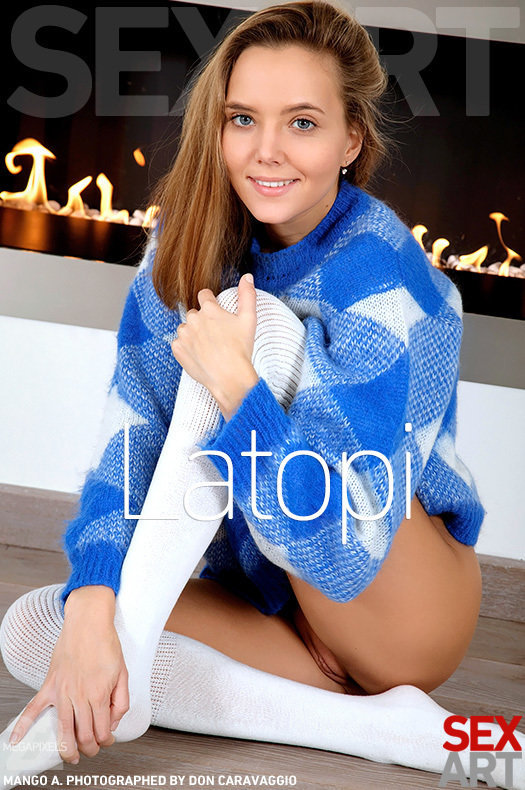 On the cover of Latopi SexArt is magnificent Mango A