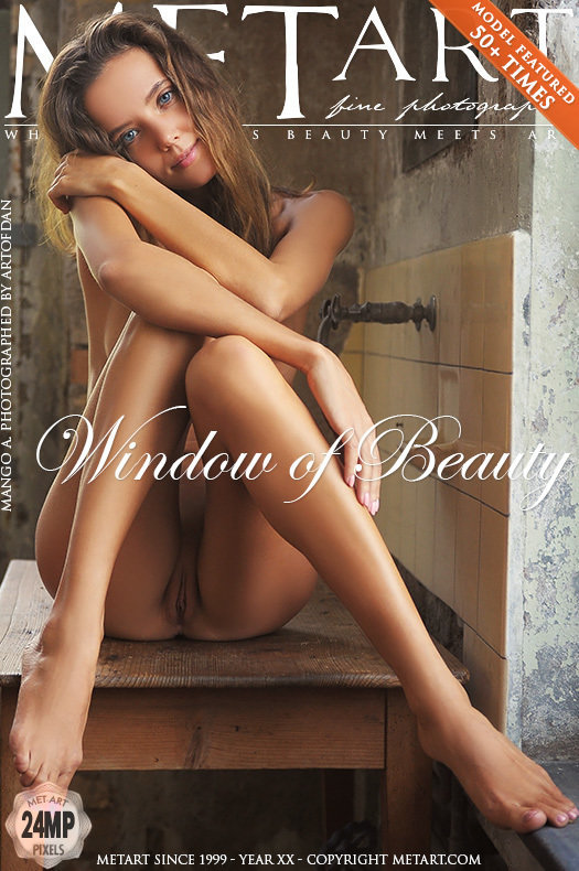 On the magazine cover of Window of Beauty MetArt is empyrean Mango A