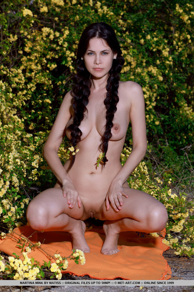 uncovered photo gallery of  Martina Mink