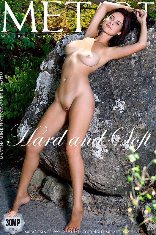 On the cover of Hard and Soft MetArt is stupendous Martina Mink