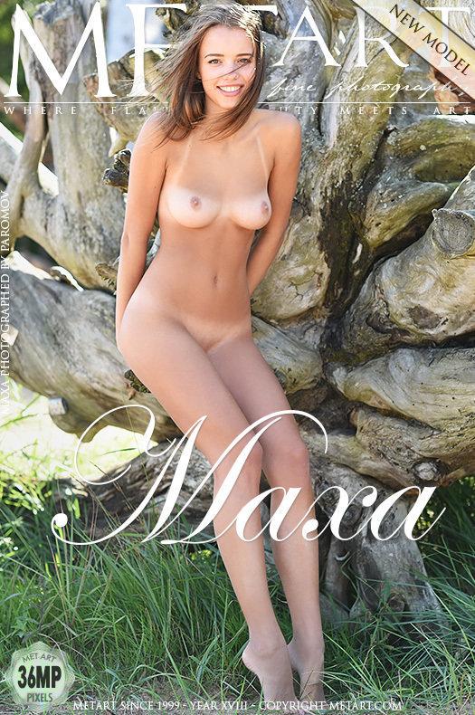 On the cover of Presenting Maxa MetArt is amazing Maxa