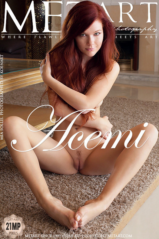 On the cover of Acemi MetArt is lofty Mia Sollis