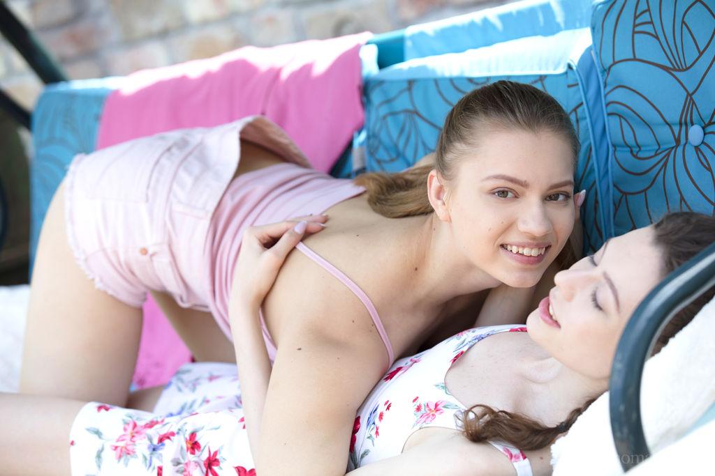 Mia Split, Sofi Smile astonishing medium breasts photo