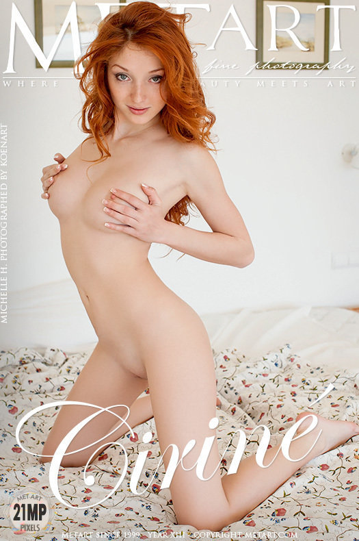 On the magazine cover of Cirine MetArt is heart-stirring Michelle H