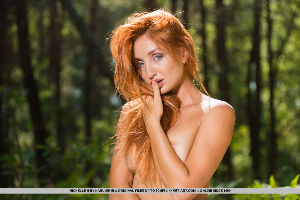 Model of Michelle H in nude sessions