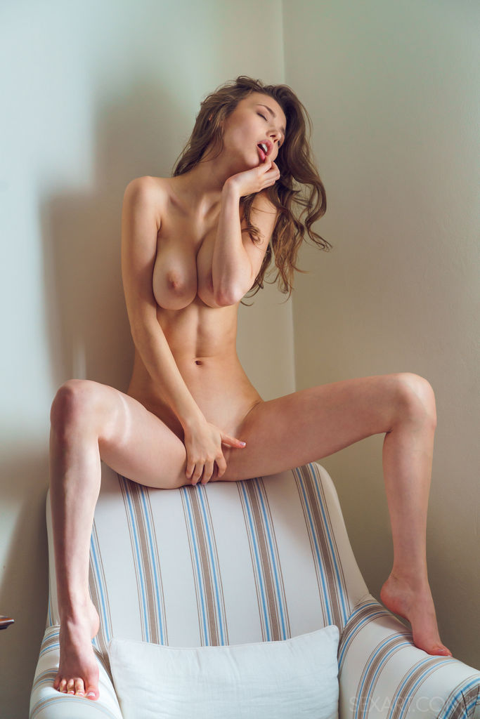 Mila Azul in libidinous photo sessions
