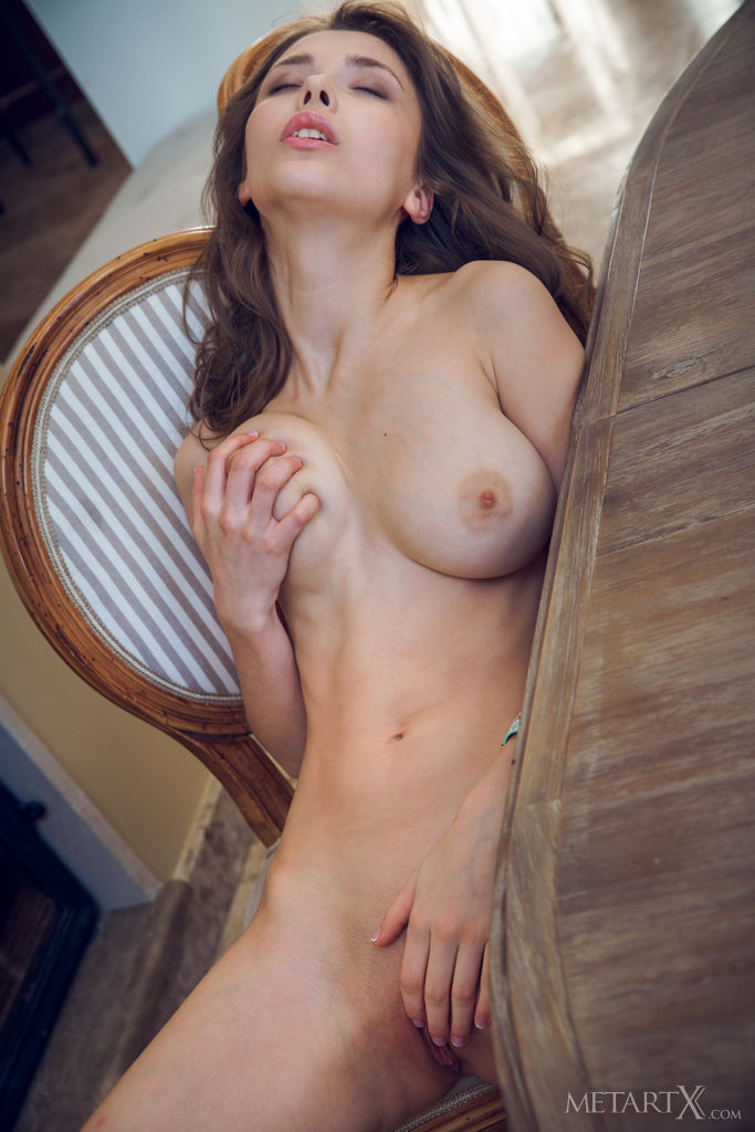 Mila Azul in sensual photo sessions for free of cost