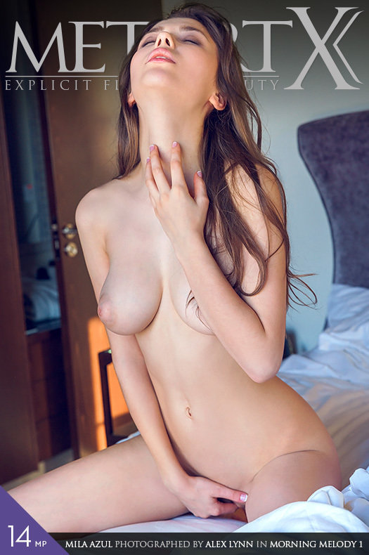 Magazine coverMila Azul kinky large boobs