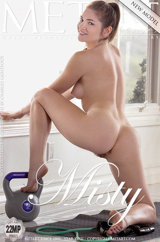 On the cover of Presenting Misty Lovelace MetArt is bewildering Misty Lovelace