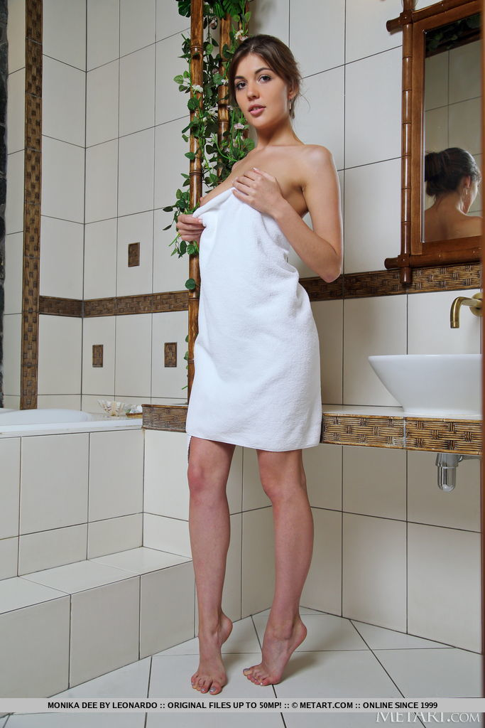 Best flirtatious model Monika Dee for adult only sessions