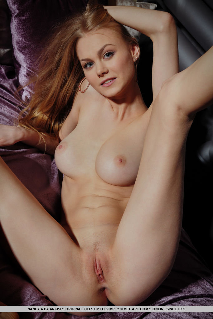 Best marvelous model Nancy A in naked sessions