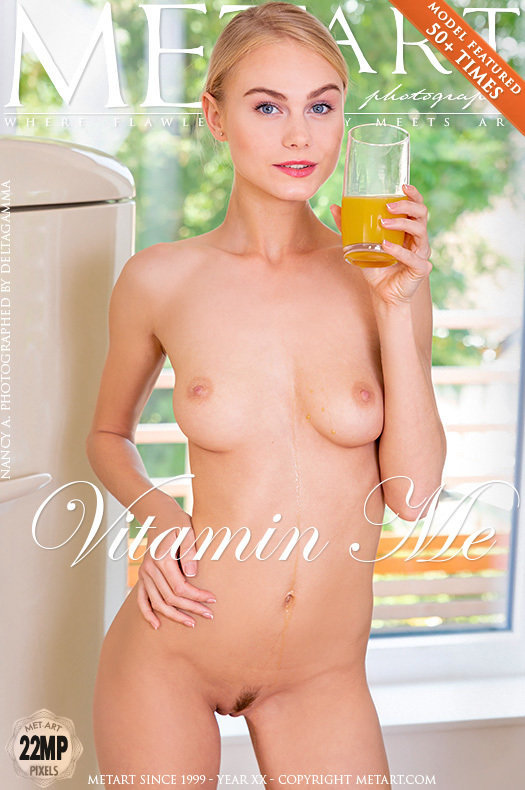 On the cover of Vitamin Me MetArt is celestial Nancy A