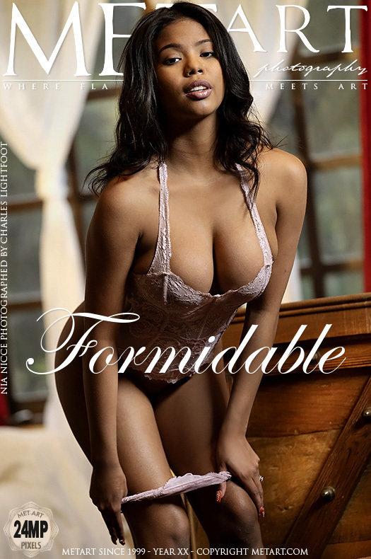 Magazine coverNia Nicce big breasts