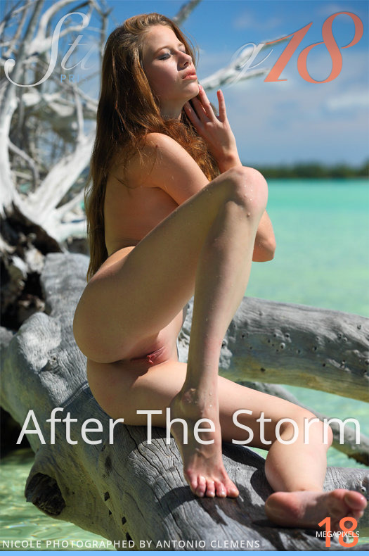 On the magazine cover of After The Storm Stunning 18 is amazing Nicole