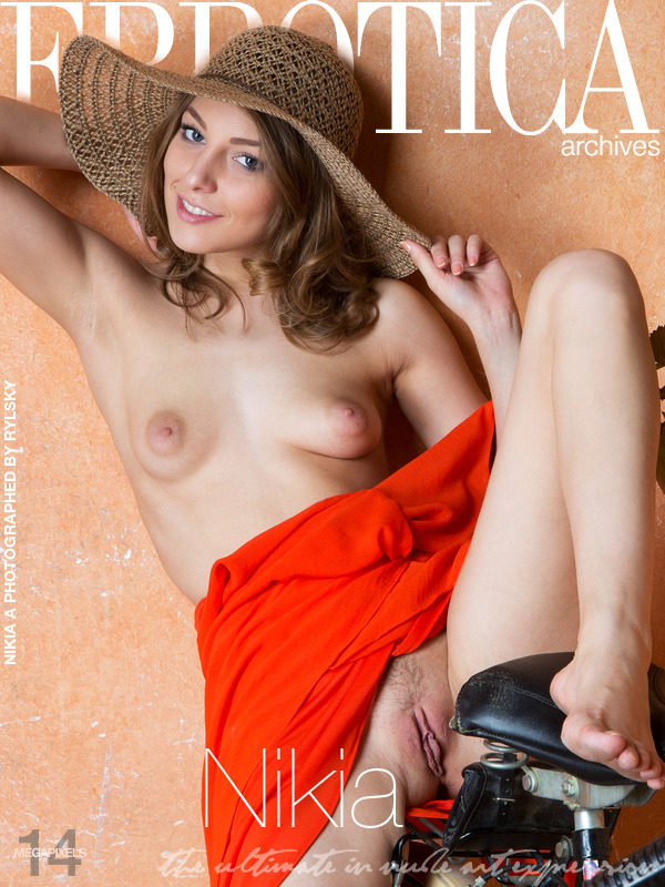 On the cover of Nikia Errotica Archives is unbelievable Nikia A