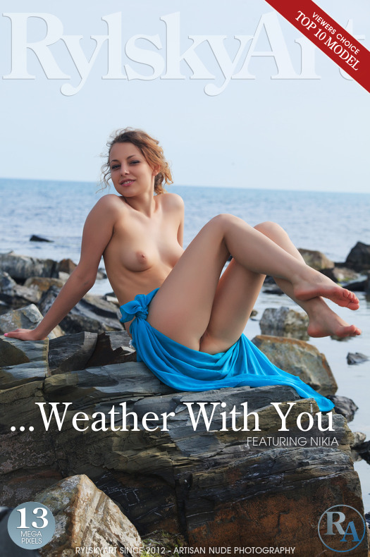On the magazine cover of ...Weather With You Rylsky Art is moving Nikia