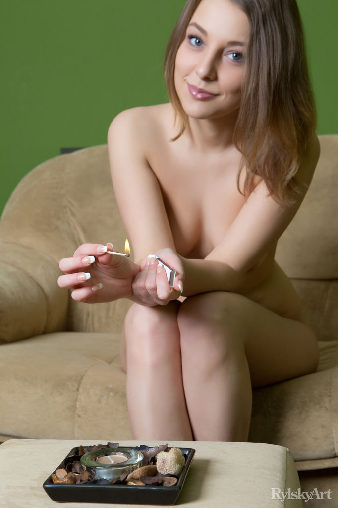 Nikia in hot photo sessions