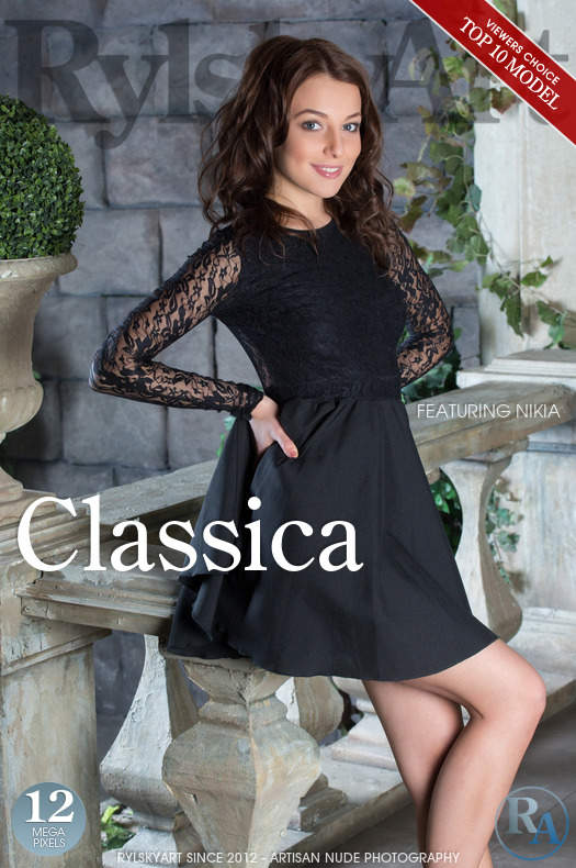 On the magazine cover of Classica Rylsky Art is striking Nikia