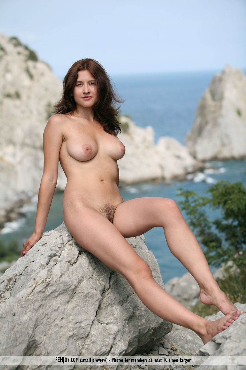 On the magazine cover of On the Rocks FemJoy is heavenly Ornella