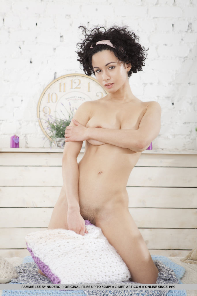 Best stimulating model Pammie Lee in unclad sessions