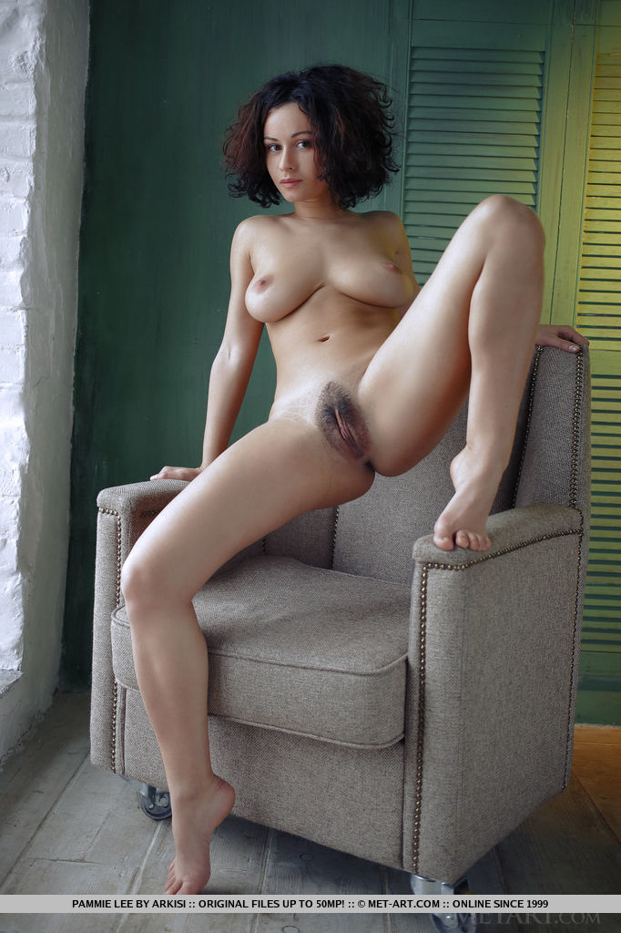 Model of Pammie Lee in unclad sessions