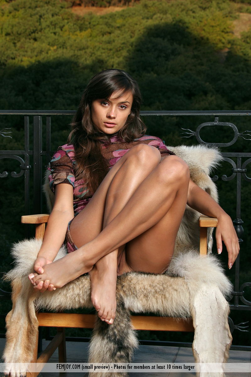 Featured Weekend in the Mountains FemJoy is surprising Paulina