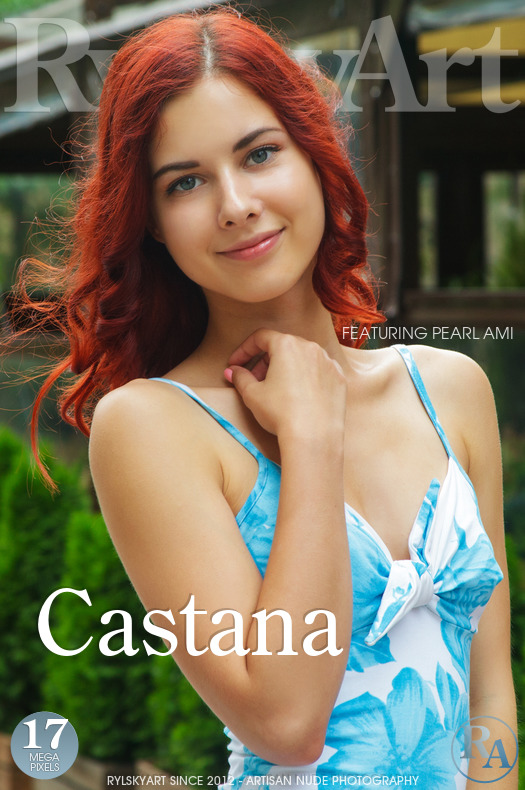 On the magazine cover of Castana Rylsky Art is fascinating Pearl Ami