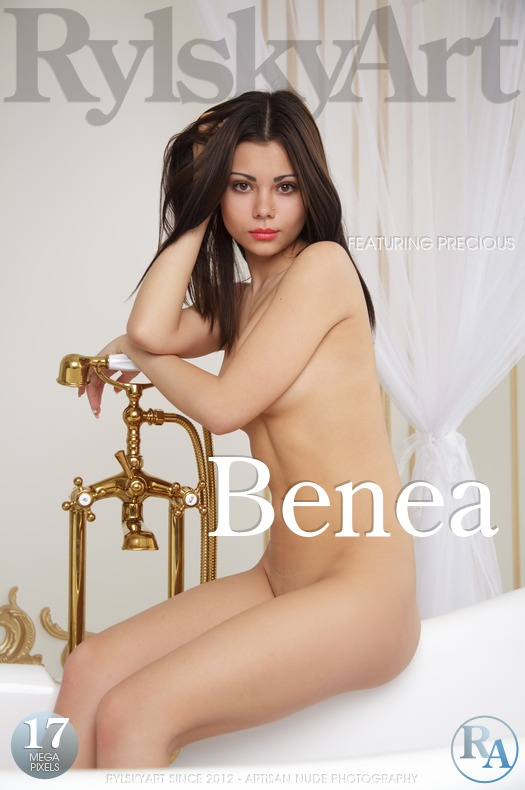 On the cover of Benea Rylsky Art is stunning Precious