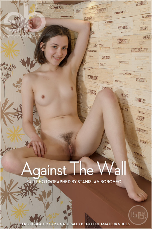 Featured Against The Wall Erotic Beauty is moving Rati