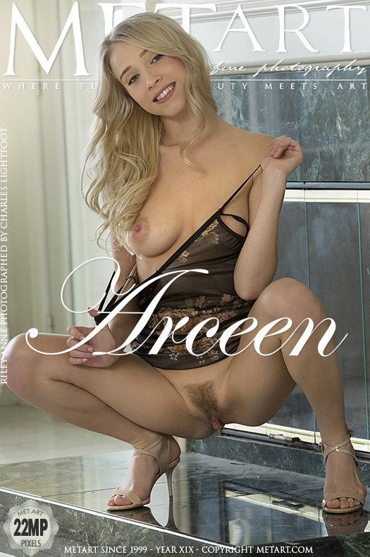 Featured Arceen MetArt is spectacular Riley Anne