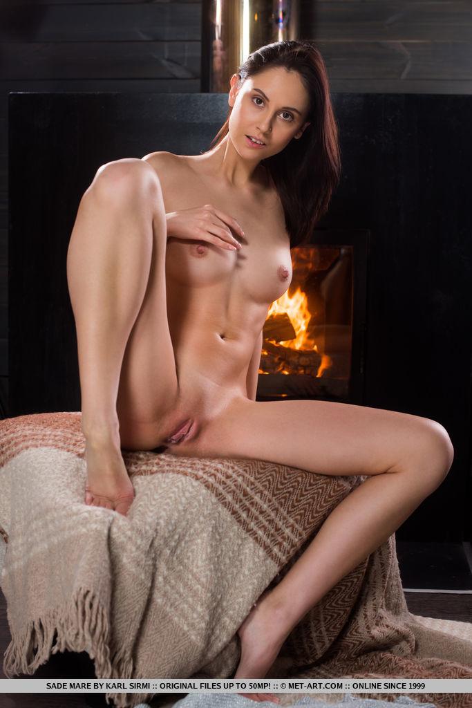 Best kinky model Sade Mare in au naturel sessions