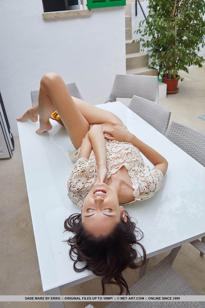 wearing only a smile photo gallery of  Sade Mare